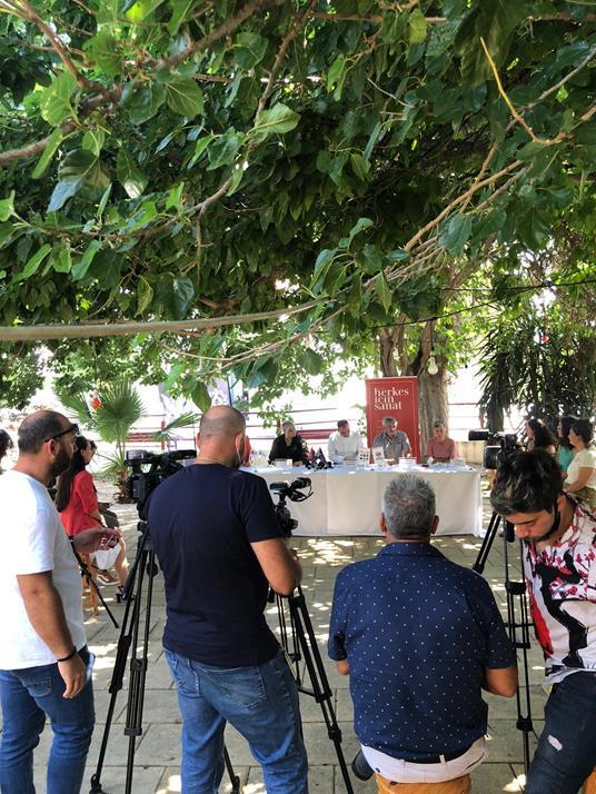 Heykel Rezidansı Basına Tanıtıldı